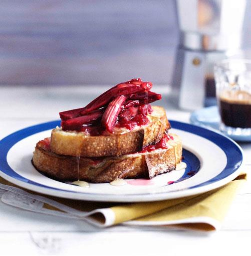 "[**Rhubarb and mascarpone French toast**](http://www.gourmettraveller.com.au/recipes/browse-all/rhubarb-and-mascarpone-french-toast-10177|target=""_blank"")"