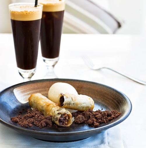 **Chocolate baklava** **Chocolate baklava**    [View Recipe](http://gourmettraveller.com.au/chocolate_baklava.htm)     PHOTOGRAPH **TARA FISHER**