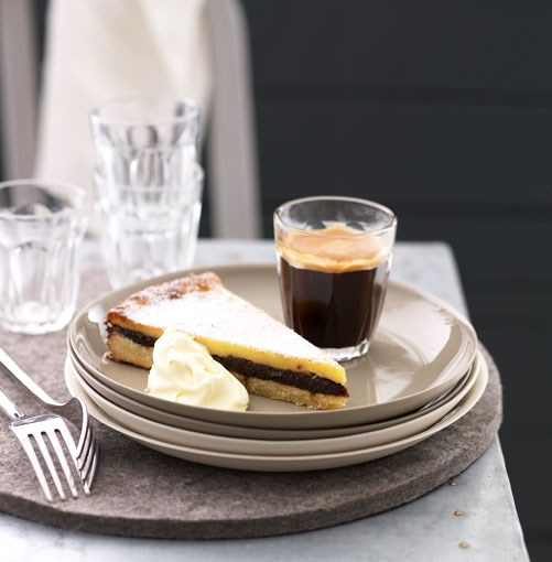 **Baked custard and prune tart** **Baked custard and prune tart**    [View Recipe](http://gourmettraveller.com.au/baked_custard_and_prune_tart.htm)     PHOTOGRAPH **TENY AGHAMALIAN**