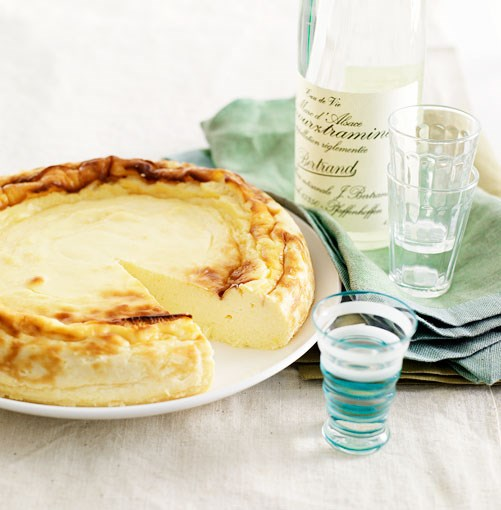 **Baked goat's curd cheesecake** **Baked goat's curd cheesecake**    [View Recipe](http://gourmettraveller.com.au/baked_goats_curd_cheesecake.htm)     PHOTOGRAPH **CHRIS CHEN**