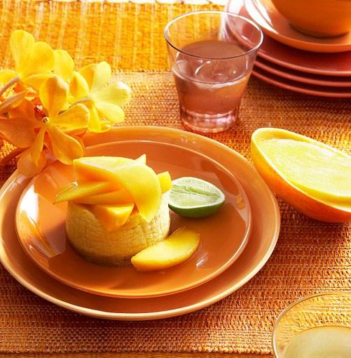 **Mango cheesecakes** **Mango cheesecakes**    [View Recipe](http://gourmettraveller.com.au/mango_cheesecakes.htm)     PHOTOGRAPH **CHRIS CHEN**