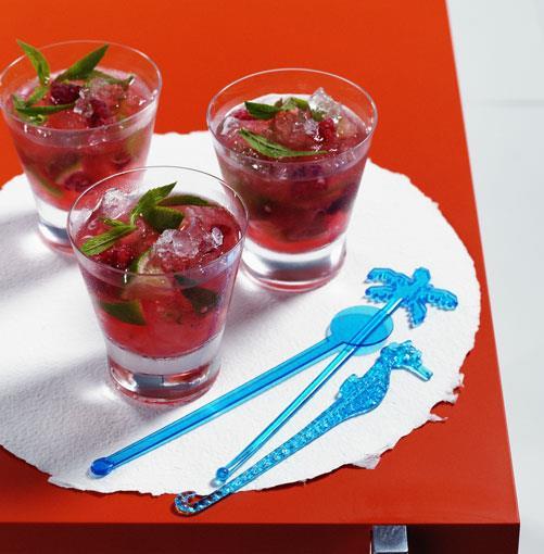 **Raspberry and Mint Mojito** **Raspberry and Mint Mojito**    [View Recipe](http://gourmettraveller.com.au/raspberry_and_mint_mojito.htm)     PHOTOGRAPH **BEN DEARNLEY**