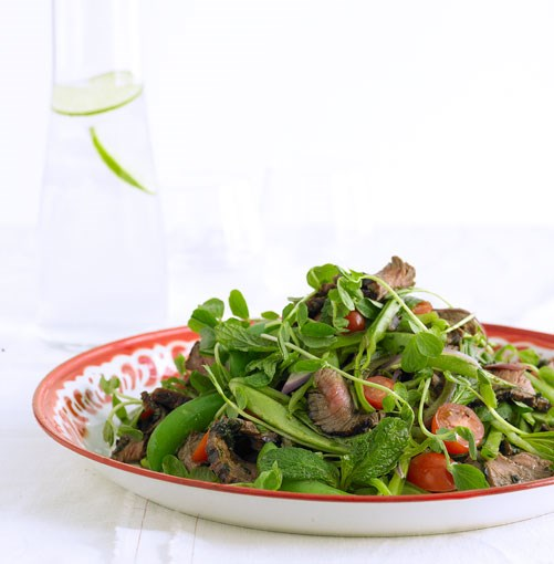 **Mint and chilli beef salad** **Mint and chilli beef salad**    [View Recipe](http://gourmettraveller.com.au/mint_and_chilli_beef_salad.htm)     PHOTOGRAPH **TENY AGHAMALIAN**