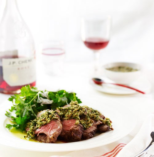 **Barbecued leg of lamb with almond and mint sauce** **Barbecued leg of lamb with almond and mint sauce**    [View Recipe](http://gourmettraveller.com.au/barbecued_leg_of_lamb_with_almond_and_mint_sauce.htm)     PHOTOGRAPH **ANSON SMART**