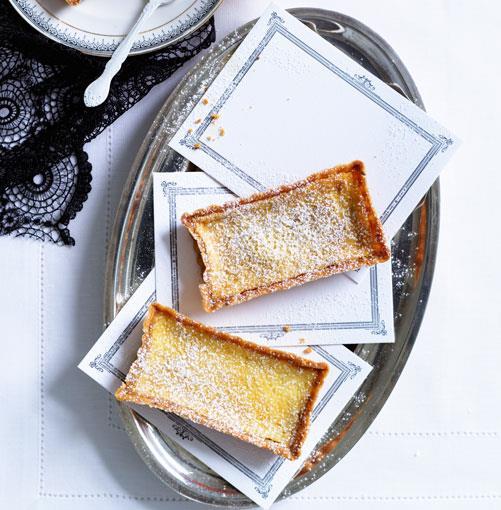 **Goat's curd and mint tartlets** **Goat's curd and mint tartlets**    [View Recipe](http://gourmettraveller.com.au/goats_curd_and_mint_tartlets.htm)     PHOTOGRAPH **BEN DEARNLEY**
