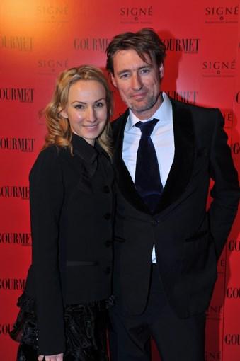 **** Lisa McCune and Tim Disney