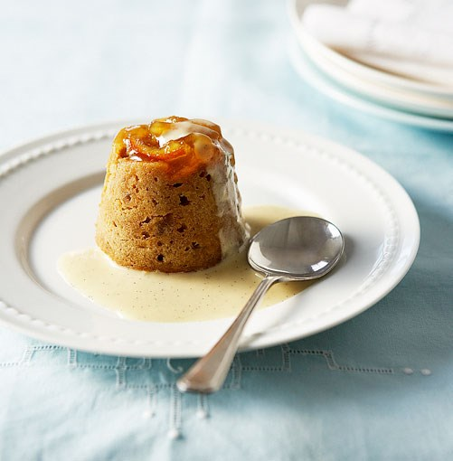 **Marmalade and ginger steamed pudding**