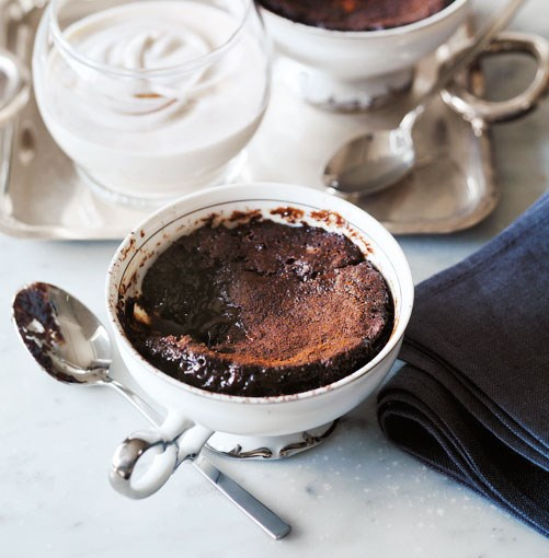 "[**Chocolate-chestnut self-saucing puddings**](https://www.gourmettraveller.com.au/recipes/browse-all/chocolate-chestnut-self-saucing-puddings-10479|target=""_blank"")"