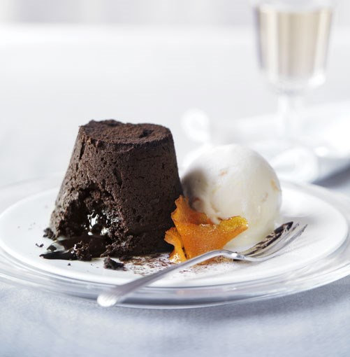 **Orange chocolate fondants** **Orange chocolate fondants**    [View Recipe](http://www.gourmettraveller.com.au/orange-chocolate-fondants.htm)     PHOTOGRAPH **WILLIAM MEPPEM**
