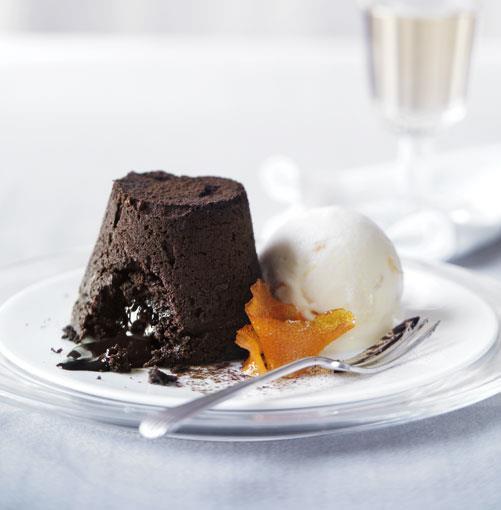 **Orange chocolate fondants** **Orange chocolate fondants**    [View Recipe](http://www.gourmettraveller.com.au/orange-chocolate-fondants.htm)     PHOTOGRAPH **WILLIAM MEPPEM**