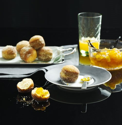 **Fennel bomboloni with orange jam** **Fennel bomboloni with orange jam**    [View Recipe](http://gourmettraveller.com.au/fennel-bomboloni-with-orange-jam.htm)     PHOTOGRAPHY **SHARYN CAIRNS**