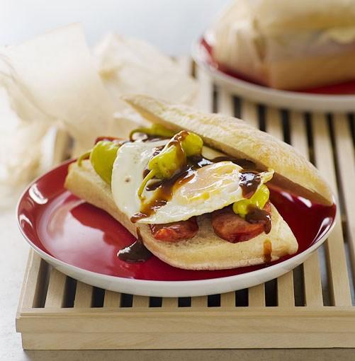 **Hangover rolls** **Hangover rolls**    [View Recipe](http://www.gourmettraveller.com.au/hangover_rolls.htm)     PHOTOGRAPH **WILLIAM MEPPEM**