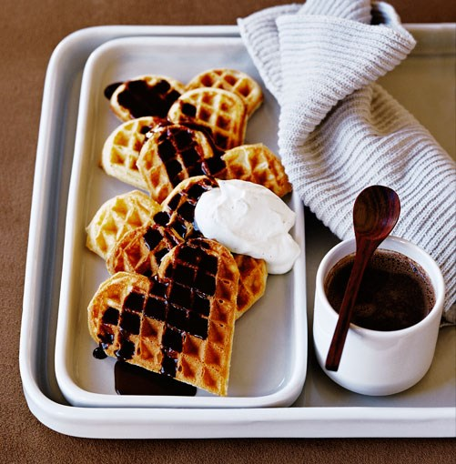 "[**Waffles with chocolate and Pedro Ximénez sauce**](http://www.gourmettraveller.com.au/waffles_with_chocolate_and_pedro_ximnez_sauce_.htm|target=""_blank"")"