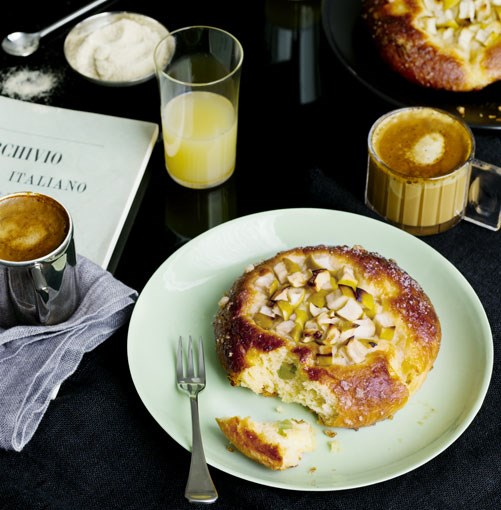 **Apple and cedro brioche** **Apple and cedro brioche**    [View Recipe](http://gourmettraveller.com.au/apple-and-cedro-brioche.htm)     PHOTOGRAPHY **SHARYN CAIRNS**