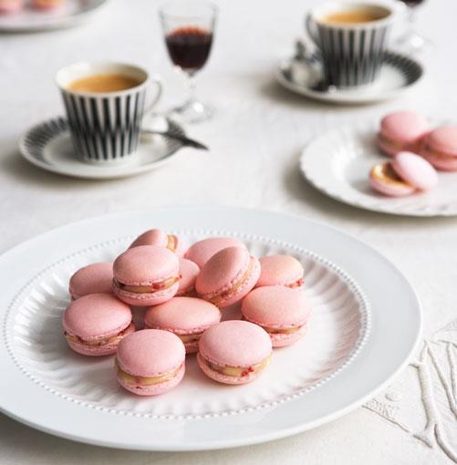 "**[Macarons](http://gourmettraveller.com.au/macarons2.htm|target=""_blank"")** <br><br>   PHOTOGRAPH: WILLIAM MEPPEM"