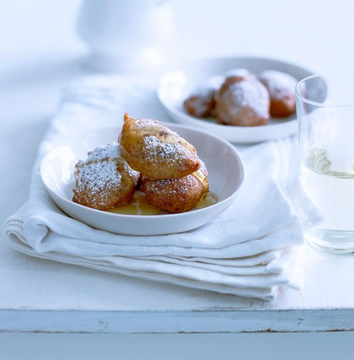 **Orange and chocolate ricotta fritters with honey** **Orange and chocolate ricotta fritters with honey**    [View Recipe](http://www.gourmettraveller.com.au/orange_and_chocolate_ricotta_fritters_with_honey.htm)     PHOTOGRAPH **BEN DEARNLEY**