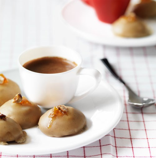 **Espresso-glazed biscotti** **Espresso-glazed biscotti**    [View Recipe](http://www.gourmettraveller.com.au/espressoglazed_biscotti.htm)     PHOTOGRAPH **WILLIAM MEPPEM**