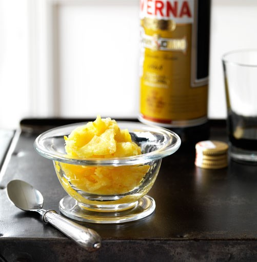 **Sorbetto di arancia** **Sorbetto di arancia**    [View Recipe](http://www.gourmettraveller.com.au/sorbetto_di_arancia.htm)     PHOTOGRAPH **WILLIAM MEPPEM**