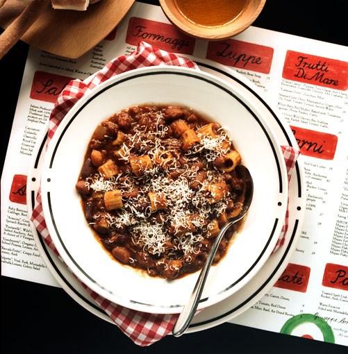 **Pasta fagioli** **Pasta fagioli**    [View Recipe](http://www.gourmettraveller.com.au/pasta_fagioli.htm)     PHOTOGRAPH **SHARYN CAIRNS**