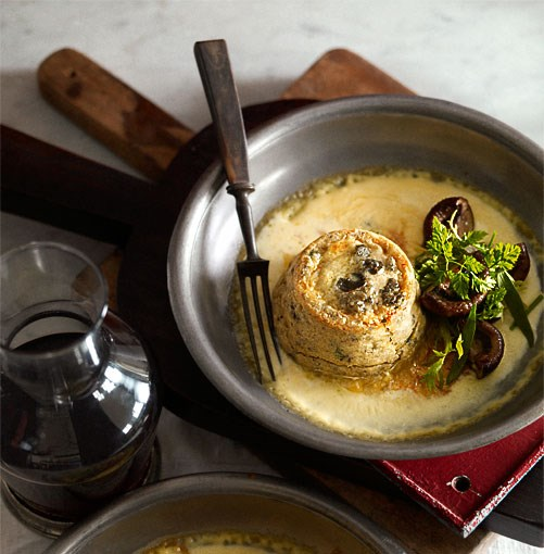 **Twice-baked Roquefort and mushroom soufflé** **Twice-baked Roquefort and mushroom soufflé**    [View Recipe](http://gourmettraveller.com.au/twice-baked-roquefort-and-mushroom-souffl.htm)     PHOTOGRAPH **CHRIS CHEN**