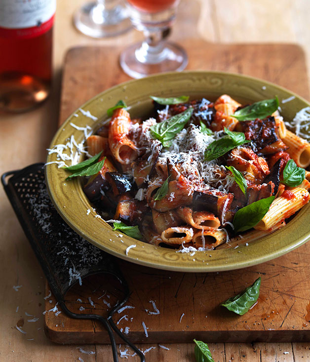 Pasta alla Norma recipe | Gourmet Traveller WINE recipe ...