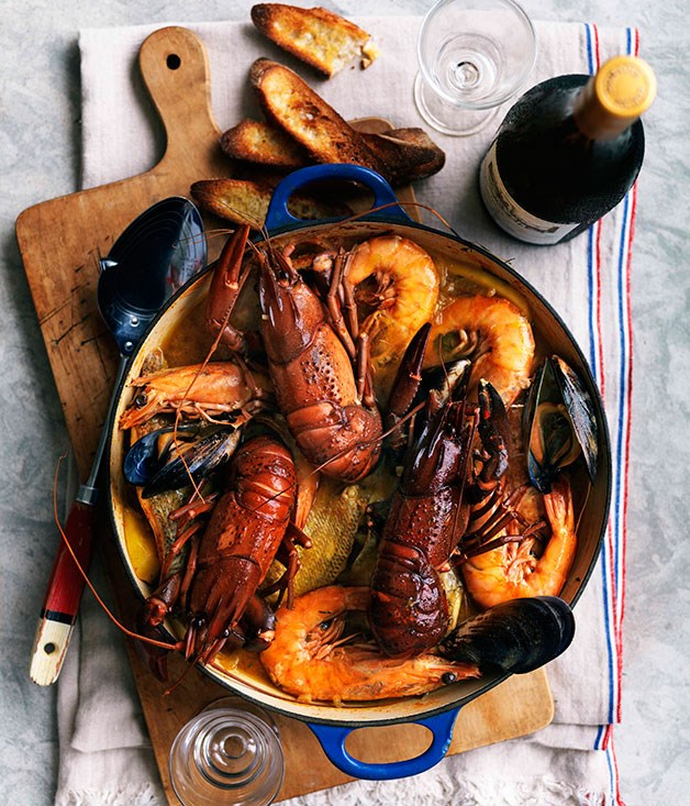 **** **Cotriade (fish stew)**    [View Recipe](http://gourmettraveller.com.au/cotriade-fish-stew.htm)