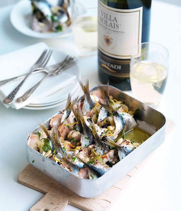 **Sardines beccaficcu** **Sardines beccaficcu**    [View Recipe](http://gourmettraveller.com.au/sardines-beccaficcu.htm)     PHOTOGRAPH **WILLIAM MEPPEM**
