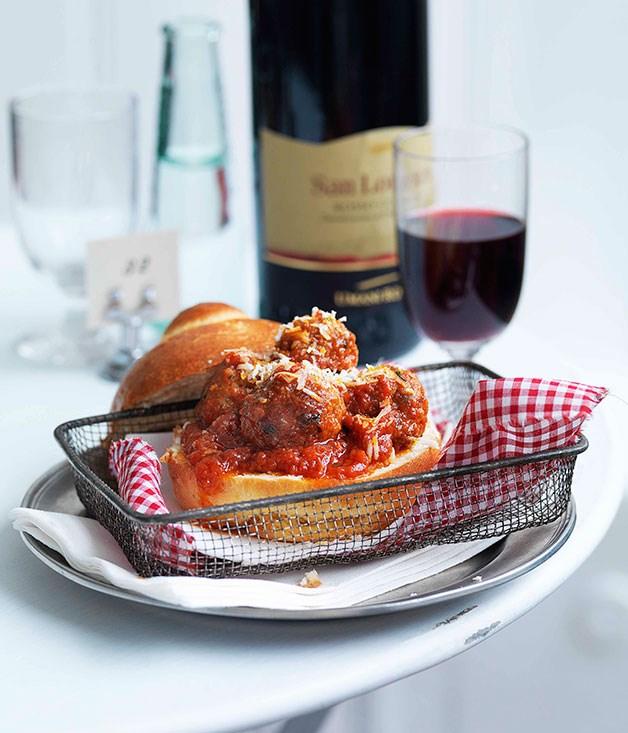 **Polpettini (meatball) rolls** **Polpettini (meatball) rolls**    [View Recipe](http://gourmettraveller.com.au/polpettini-meatball-rolls.htm)     PHOTOGRAPH **WILLIAM MEPPEM**