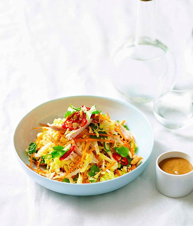 **Bang bang chicken with Asian-style coleslaw** **Bang bang chicken with Asian-style coleslaw**    [View Recipe](http://gourmettraveller.com.au/bang-bang-chicken-with-asian-style-coleslaw.htm)     PHOTOGRAPH **DEAN WILMOT**