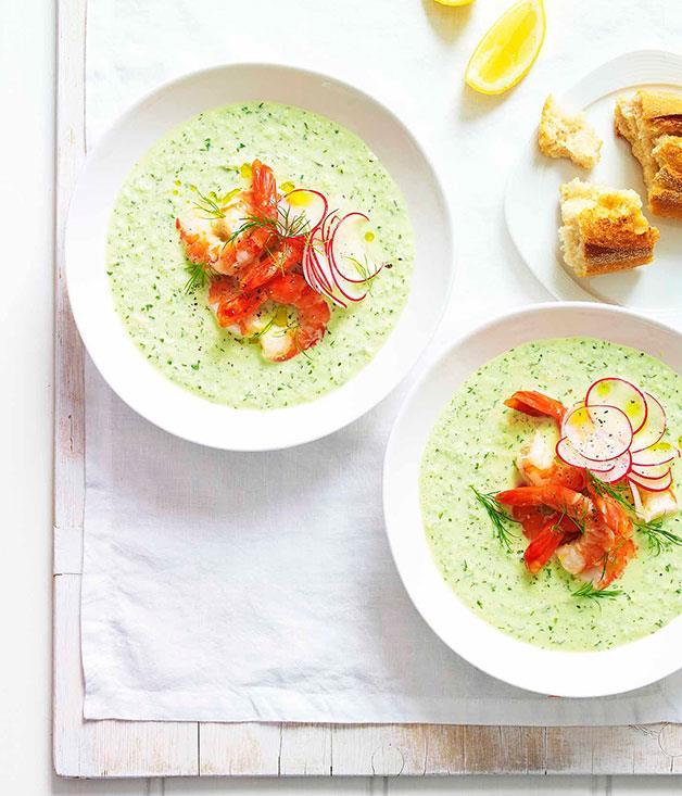 **Tarator with radish and tiger prawns** **Tarator with radish and tiger prawns**    [View Recipe](http://gourmettraveller.com.au/tarator-with-radish-and-tiger-prawns.htm)     PHOTOGRAPH **DEAN WILMOT**