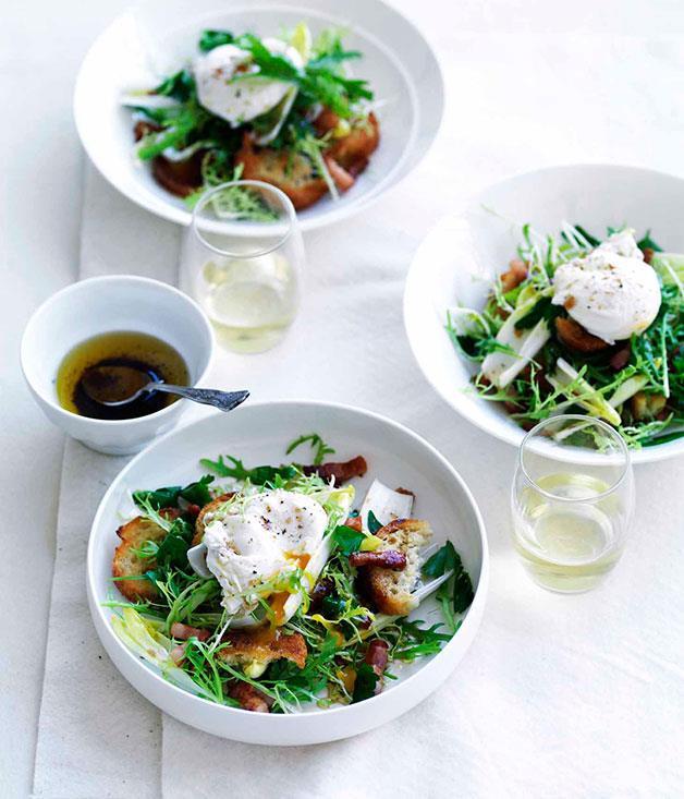 **Salade Lyonnaise** **Salade Lyonnaise**    [View Recipe](http://www.gourmettraveller.com.au/salade-lyonnaise.htm)     PHOTOGRAPH **WILLIAM MEPPEM**