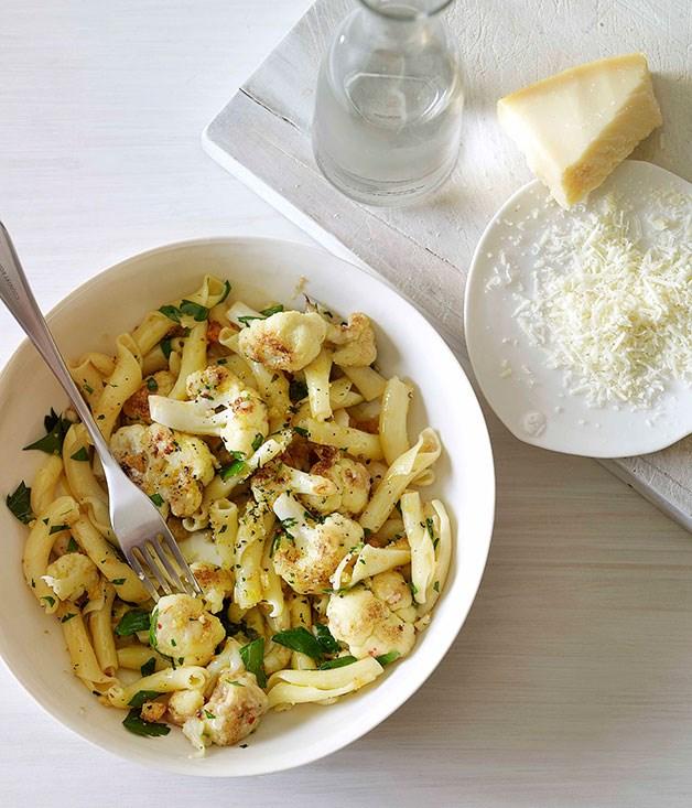 **Ciocchetti with anchovies, cauliflower and pangrattato** **Ciocchetti with anchovies, cauliflower and pangrattato**    [View Recipe](http://www.gourmettraveller.com.au/ciocchetti-with-anchovies-cauliflower-and-pangrattato.htm)     PHOTOGRAPH **CHRIS CHEN**