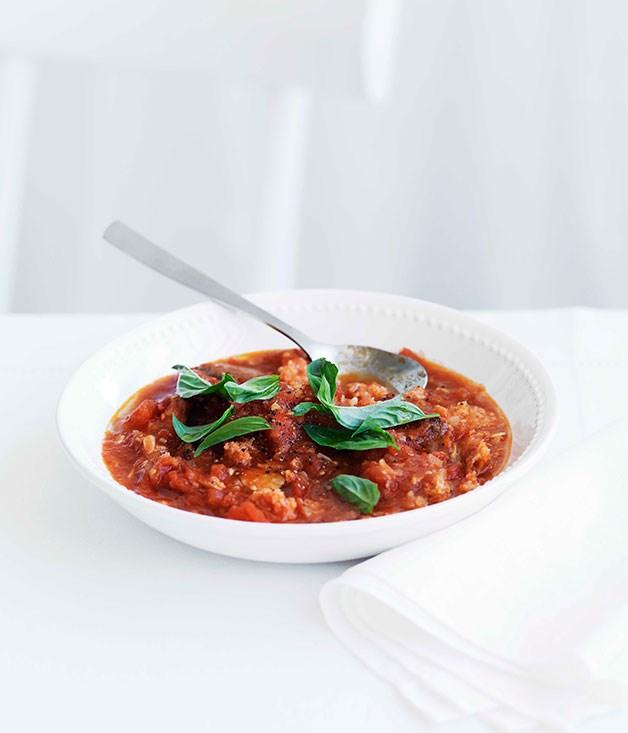 **Pappa al pomodoro** **Pappa al pomodoro**    [View Recipe](http://gourmettraveller.com.au/pappa-al-pomodoro.htm)     PHOTOGRAPH **WILLIAM MEPPEM**
