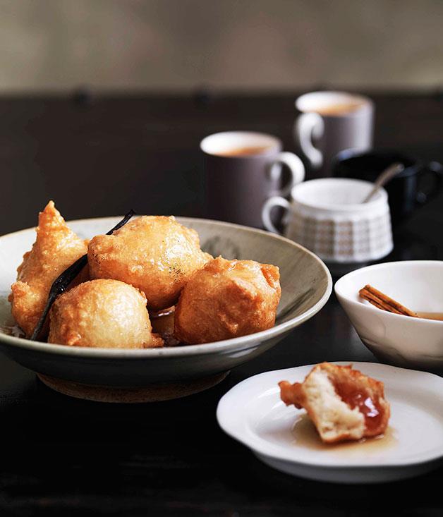 **Turkish-delight doughnuts** **Turkish-delight doughnuts**    [View Recipe](http://www.gourmettraveller.com.au/turkish-delight-doughnuts.htm)     PHOTOGRAPH **WILLIAM MEPPEM**