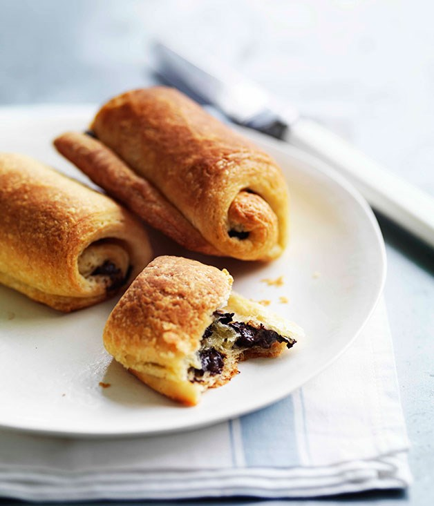 **Pain au chocolat** **Pain au chocolat**    [View Recipe](http://gourmettraveller.com.au/pain-au-chocolat.htm)     PHOTOGRAPH **WILLIAM MEPPEM**