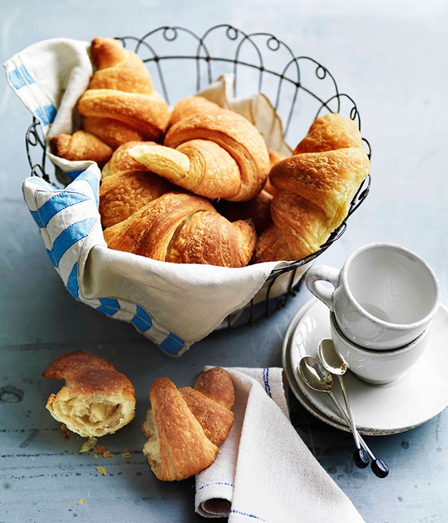 **Croissants** **Croissants**    [View Recipe](http://gourmettraveller.com.au/croissants.htm)     PHOTOGRAPH **WILLIAM MEPPEM**