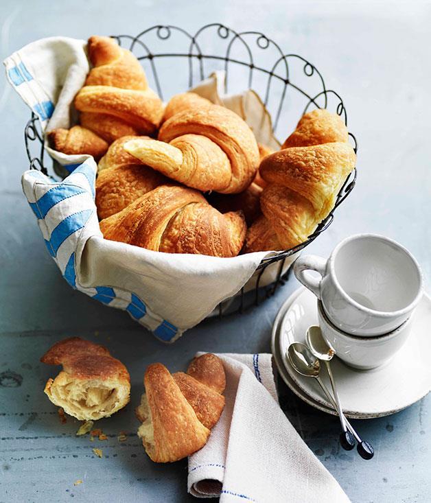 **Croissants** **Croissants**    [View Recipe](http://gourmettraveller.com.au/croissants.htm)     PHOTOGRAPH **WILLIAM MEPPEM**
