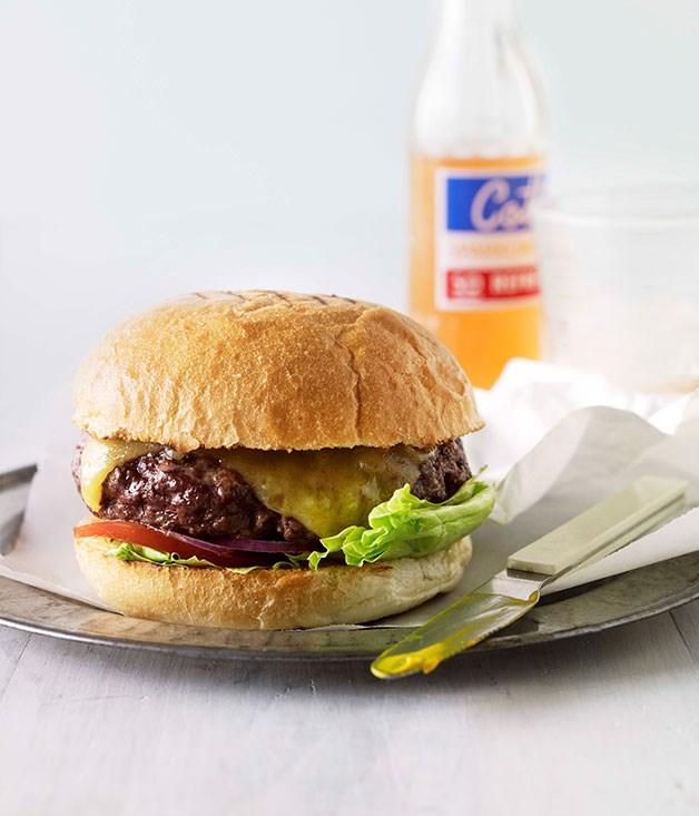 **Cheeseburgers** **Cheeseburgers**    [View Recipe](http://gourmettraveller.com.au/cheeseburgers.htm)     PHOTOGRAPH **CHRIS CHEN**
