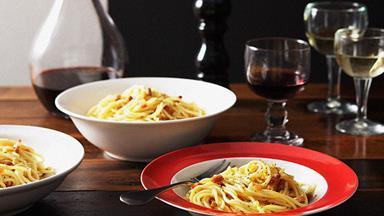 Massimo Bianchi: spaghetti carbonara