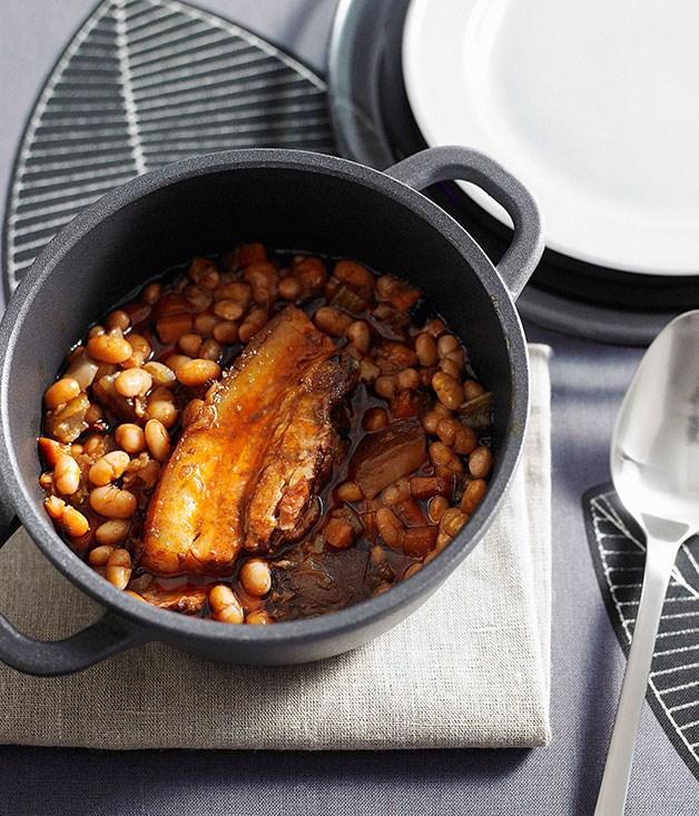 Pork and white beans