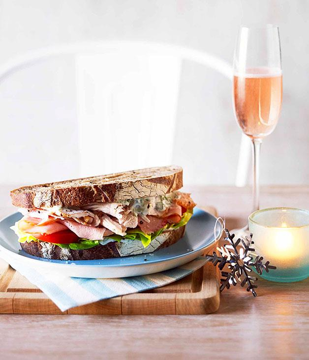 **** **Boxing Day sandwich**    [View Recipe](http://www.gourmettraveller.com.au/boxing-day-sandwich-and-sparkling-rose.htm)     PHOTOGRAPH **CHRIS CHEN**