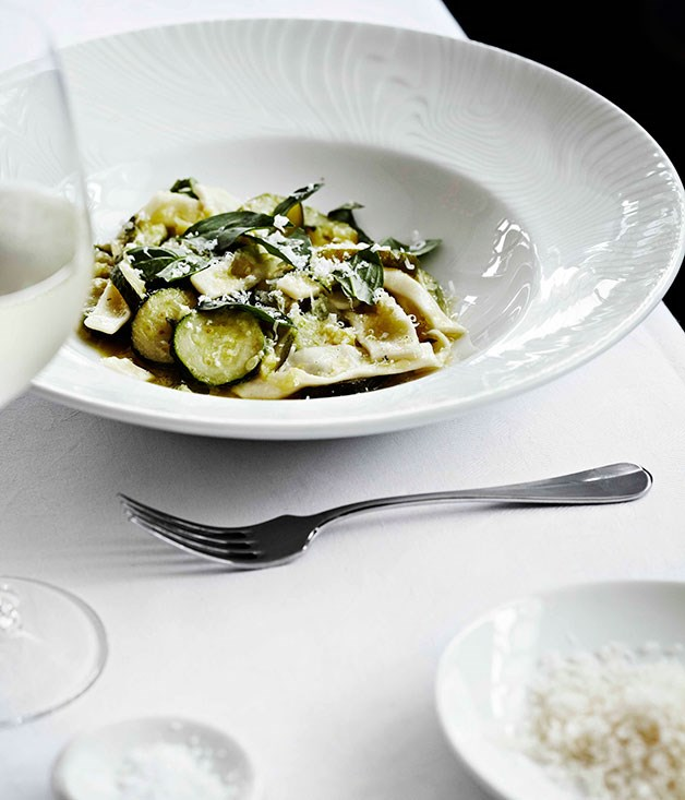 Cavatelli with zucchini