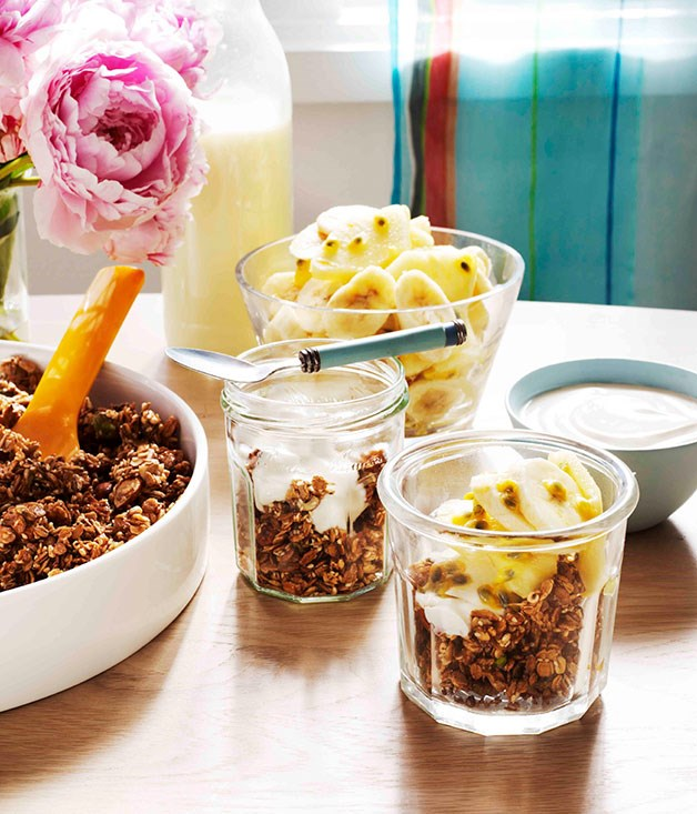 Spiced five-grain granola