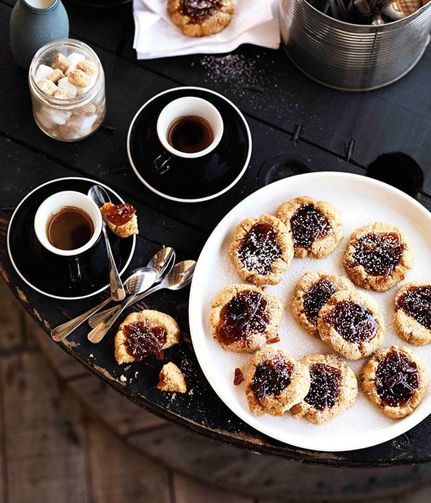 "**[Mike McEnearney's marmalade and almond jammy dodgers](https://www.gourmettraveller.com.au/recipes/browse-all/marmalade-and-almond-jammy-dodgers-11258|target=""_blank""