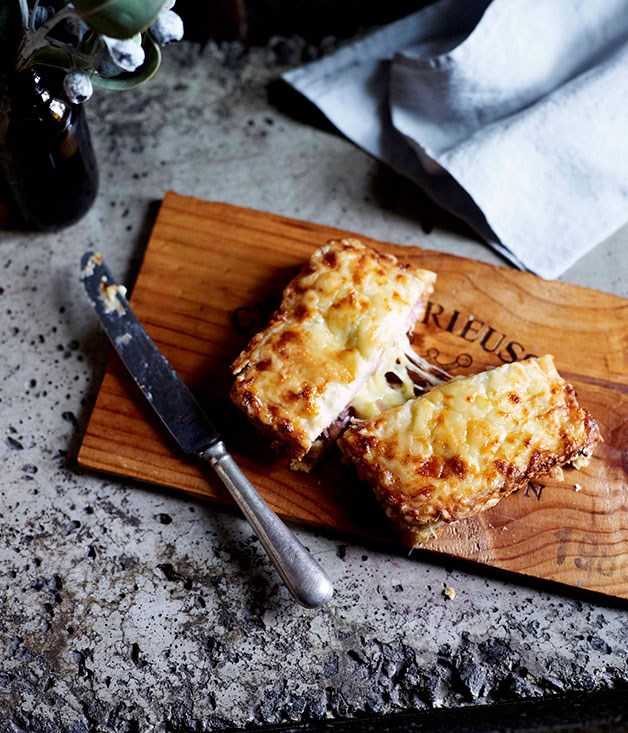 **Croque-monsieur with smoked ham, cheese and smoked sausage** **Croque-monsieur with smoked ham, cheese and smoked sausage**    [View Recipe](http://www.gourmettraveller.com.au/croque-monsieur-with-smoked-ham-cheese-and-smoked-sausage.htm)