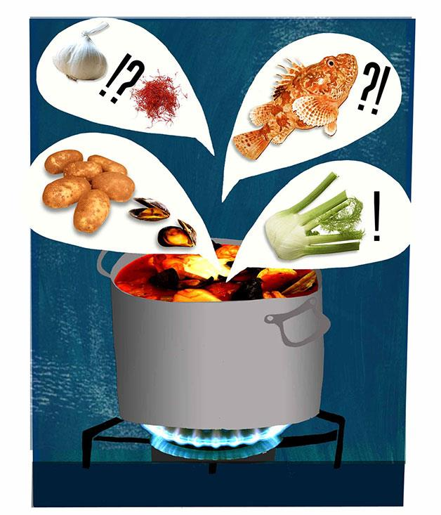 **** **Bouillabaisse**    [View Recipe](http://gourmettraveller.com.au/bouillabaisse.htm)