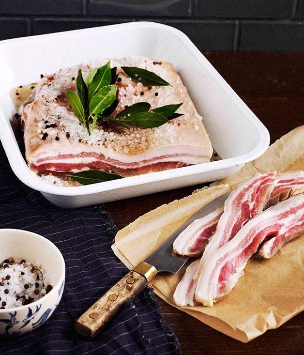 **Green bacon** [View Recipe](http://gourmettraveller.com.au/green-bacon.htm)