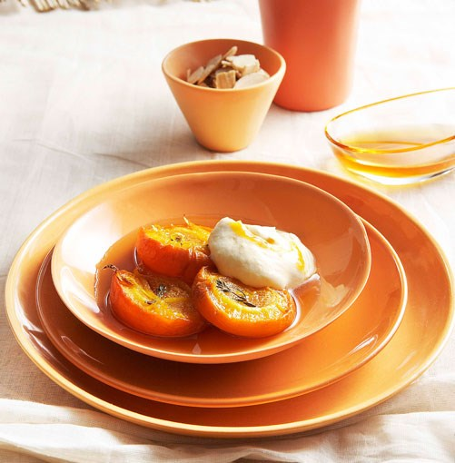 **Roast apricots with apricot fool** **Roast apricots with apricot fool**    [View Recipe](http://gourmettraveller.com.au/roast_apricots_with_apricot_fool.htm)     PHOTOGRAPH **CHRIS CHEN**