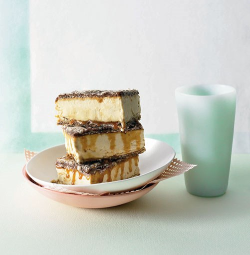 **White chocolate-espresso parfait sandwiches** **White chocolate-espresso parfait sandwiches**    [View Recipe](http://gourmettraveller.com.au/white_chocolateespresso_parfait_sandwiches.htm)     PHOTOGRAPH **CHRIS CHEN**