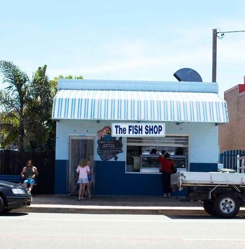 **** The Fish Shop at Burrill Lake.